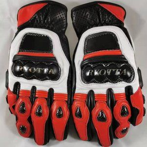 Other - New Leather Motorcycle Riding Gloves